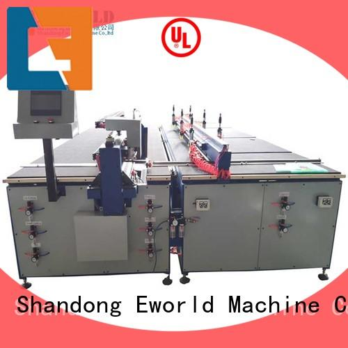 Eworld Machine stable performance arc glass cutting machine foreign trader for sale