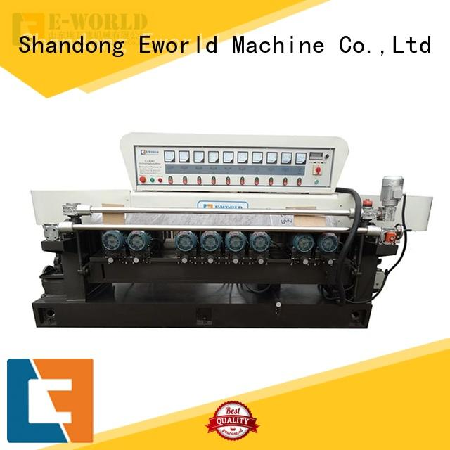 size glass edge chamfer machine manufacturer for manufacturing Eworld Machine