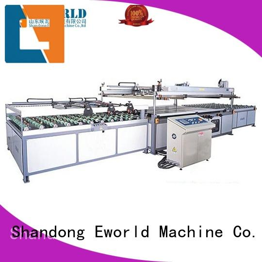 Eworld Machine trade assurance automatic screen printing machine trader for manufacturing