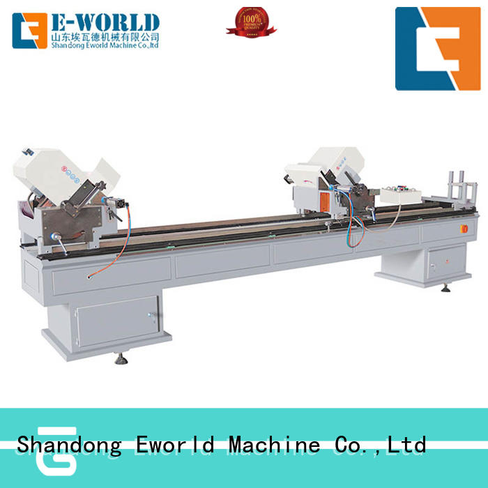 latest upvc windows and doors machinery saw supplier for manufacturing