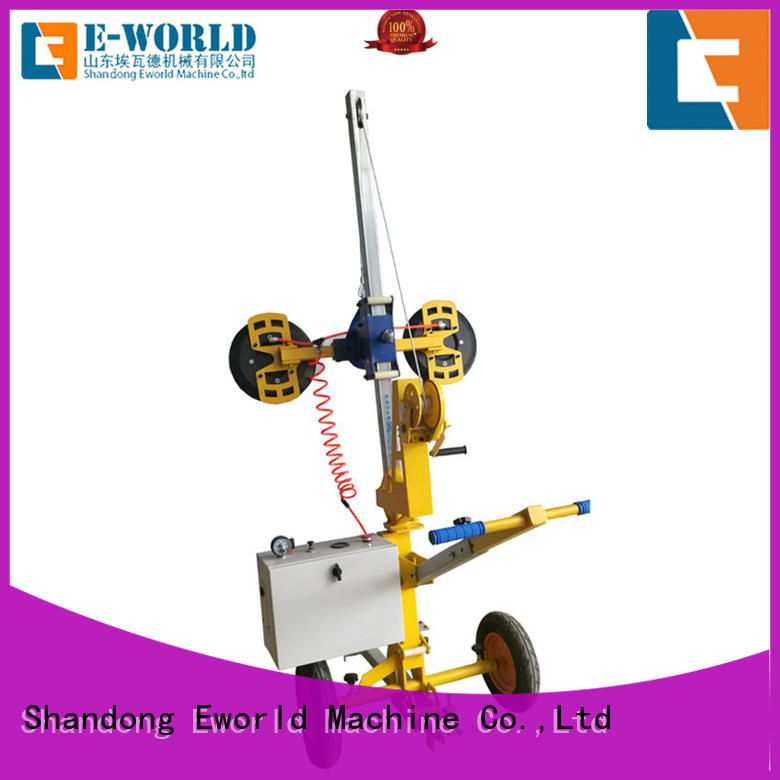 Eworld Machine unique design suction cup glass lifter factory for industry