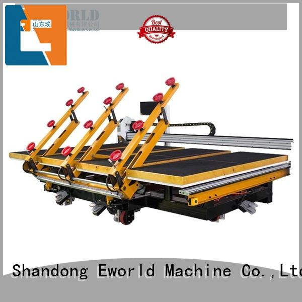 Eworld Machine automatic glass cutting table foreign trader for industry
