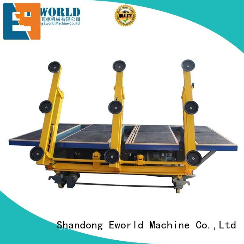 Eworld Machine air automatic glass cutting production line foreign trader for machine