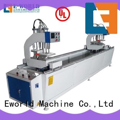 Eworld Machine customized upvc window machine price supplier for industrial production