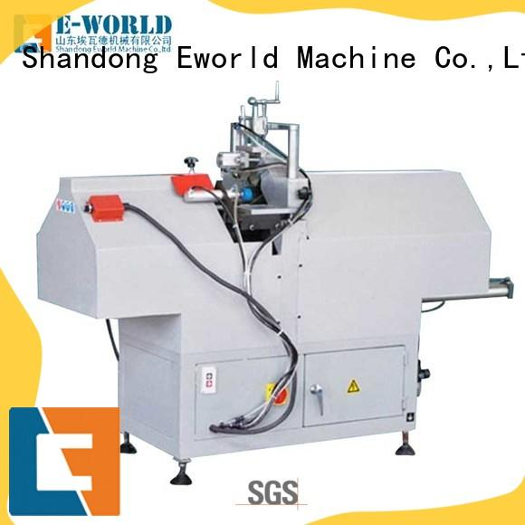 Eworld Machine latest upvc window manufacturing equipment supplier for manufacturing