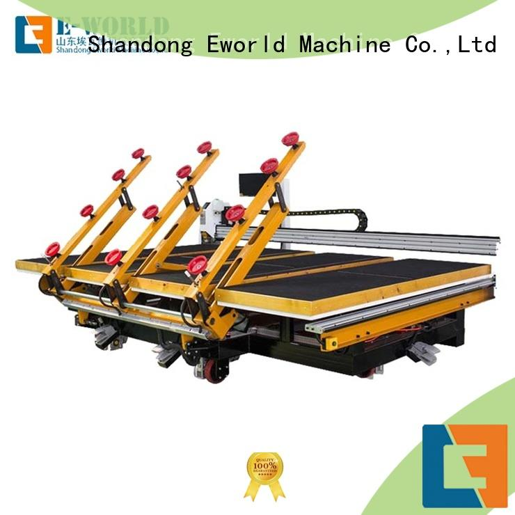 Eworld Machine glass automatic glass cutting machine foreign trader for industry