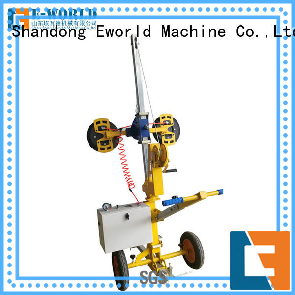 power bus glass lifter suction for industry Eworld Machine