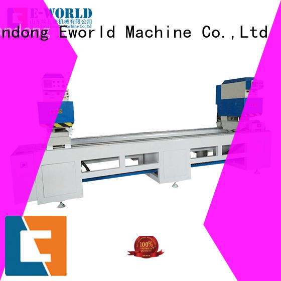 Eworld Machine new pvc window&door making machine factory for importer