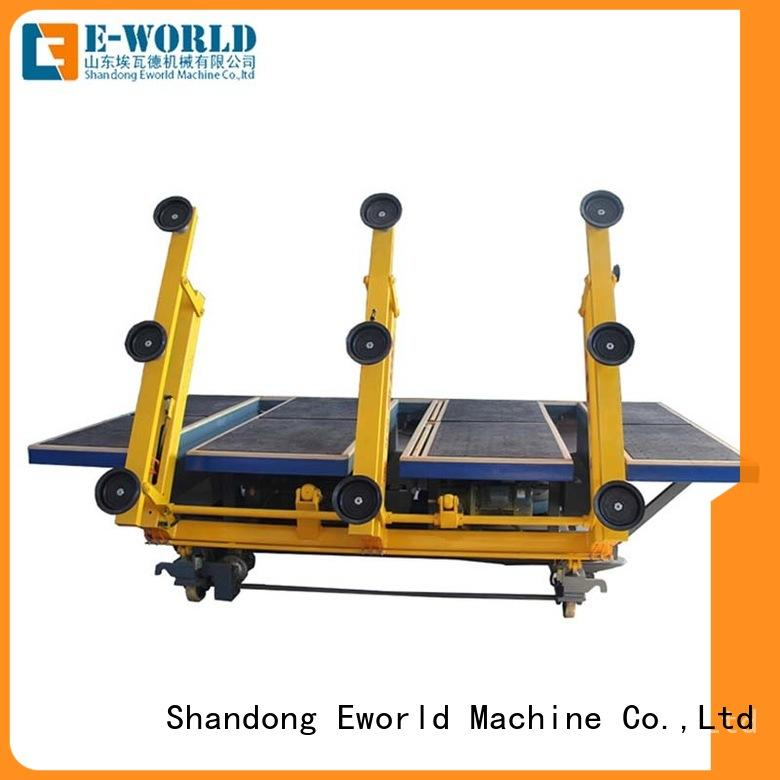 Eworld Machine high reliability cnc glass cutting machine for sale air for industry