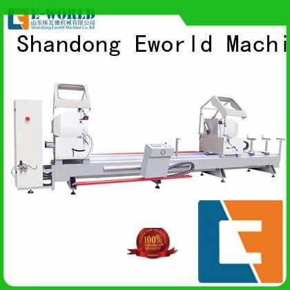 Eworld Machine machine aluminum windows corner combining machine supplier for manufacturing