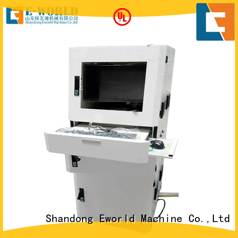 Eworld Machine stable performance cnc glass cutting machine foreign trader for industry
