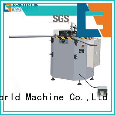 Eworld Machine corner aluminium crimping machine suppliers manufacturer for global market