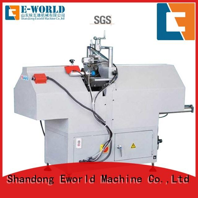 Eworld Machine profile pvc window v notch cutting machine supplier for importer