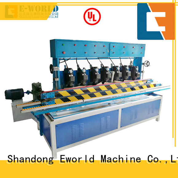 Eworld Machine processing irregular glass shape grinding machine OEM/ODM services for industrial production