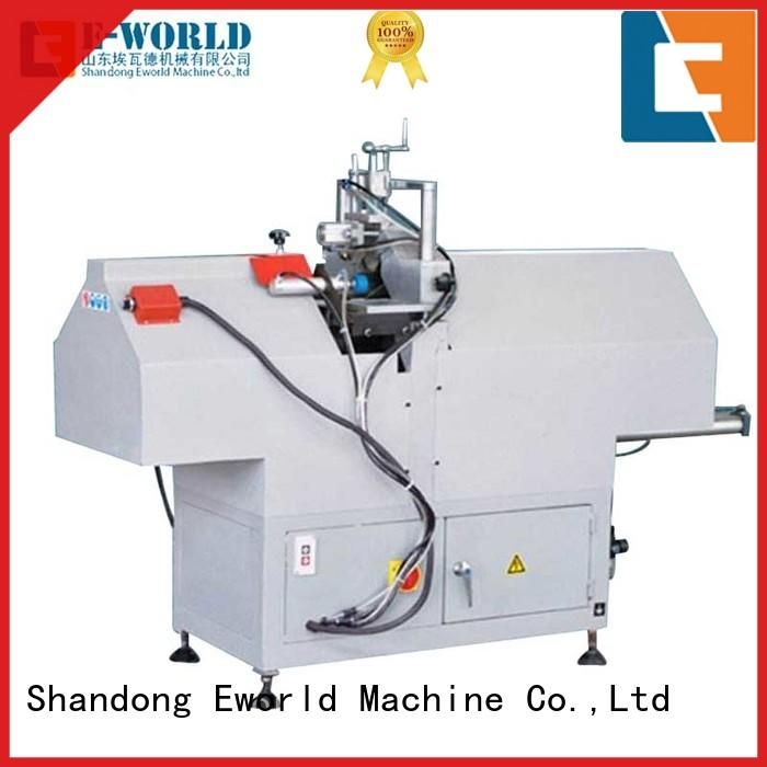 Eworld Machine pvc pvc window fabrication machine factory for manufacturing