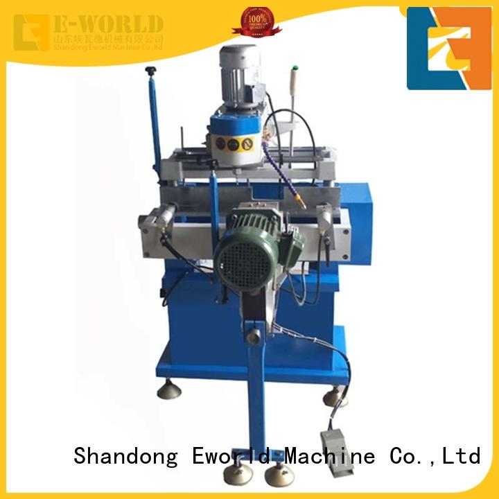 Eworld Machine bead upvc welding machine china supplier for industrial production