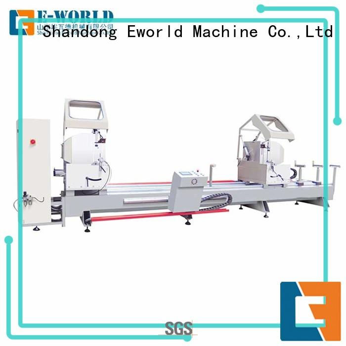 aluminum double head cutting saw end for industrial production Eworld Machine