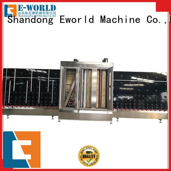 Eworld Machine horizontal open top vertical glass washer international trader for industry