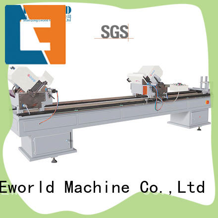 Eworld Machine seamless upvc cutting machine order now for manufacturing