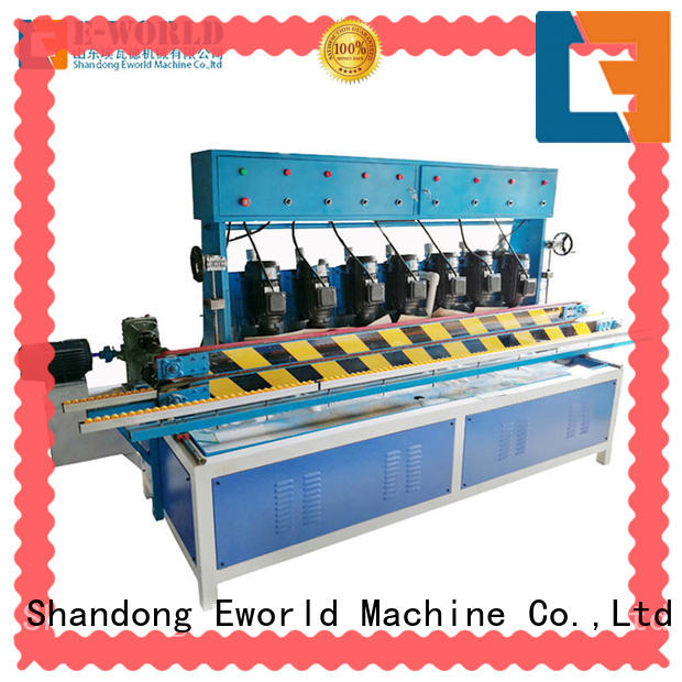 Eworld Machine size glass edging machine for sale manufacturer for global market