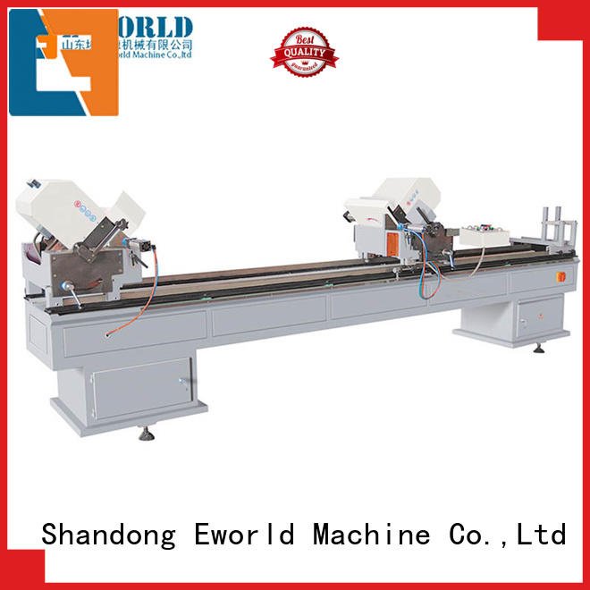 Eworld Machine new PVC window production line supplier for manufacturing