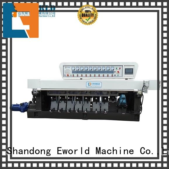 Eworld Machine functional small glass edge polishing machine OEM/ODM services for manufacturing