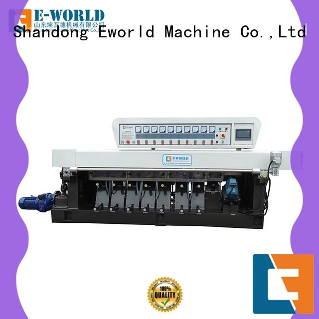 Eworld Machine technological glass edge chamfer machine supplier for manufacturing