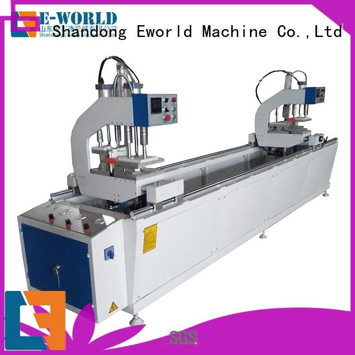 Eworld Machine customized upvc machinery for sale factory for manufacturing