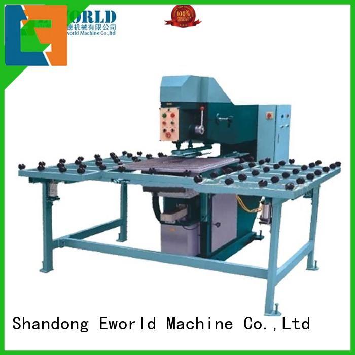 automatic semi-automatic glass drilling machine drilling for industry Eworld Machine