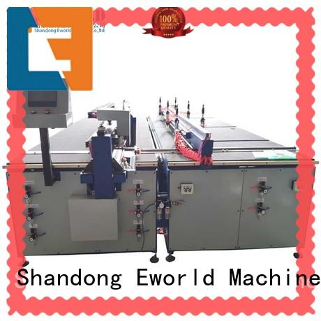 Eworld Machine stable performance cnc glass cutting machine dedicated service for sale