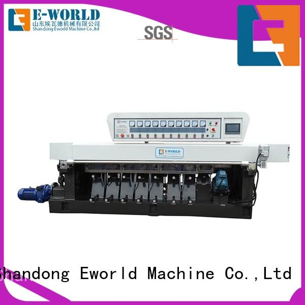 Eworld Machine trade assurance glass corner polishing machine shape for manufacturing