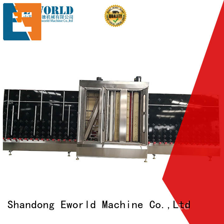 Eworld Machine trade assurance open top vertical glass washer supplier for distributor