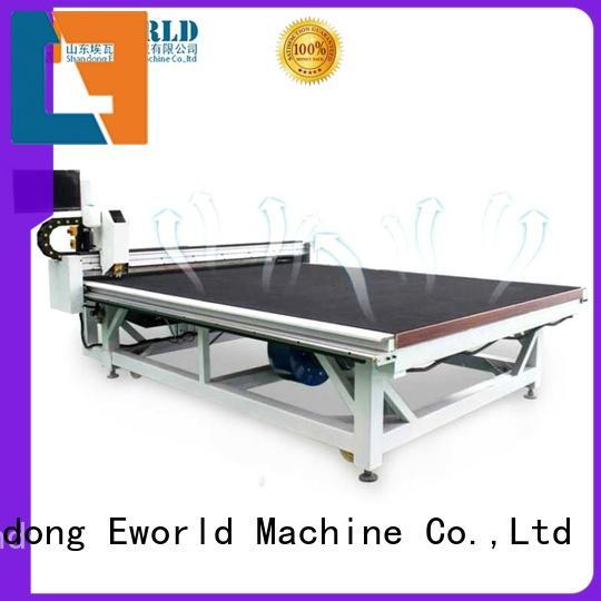 Eworld Machine good safety cnc glass cutting machine foreign trader for sale