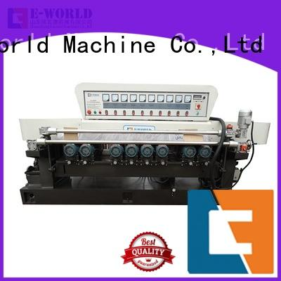 Eworld Machine portable glass edge processing machine supplier for industrial production