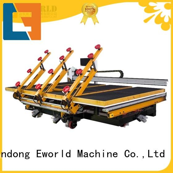 Eworld Machine reasonable structure small glass cutting machine exquisite craftsmanship for sale