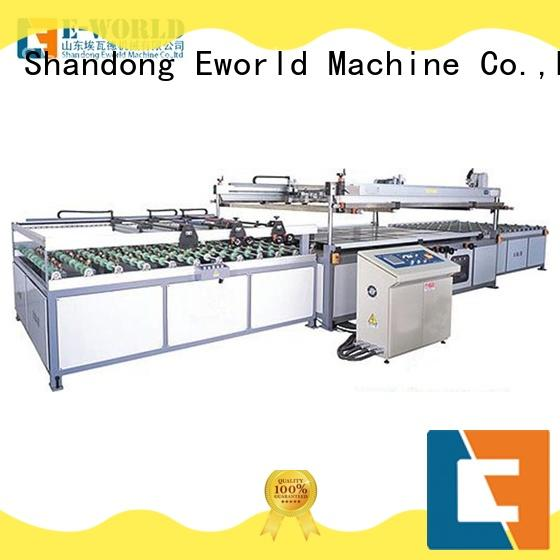 Eworld Machine original fully automatic screen printing machine manufacturer for industry