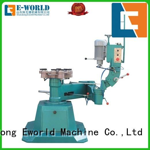 Eworld Machine portable small glass edge polishing machine OEM/ODM services for industrial production