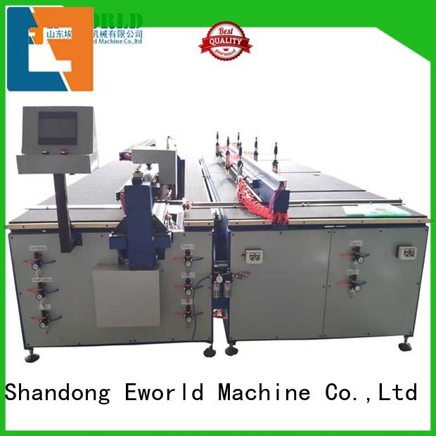 Eworld Machine reasonable structure glass cutting table dedicated service for industry