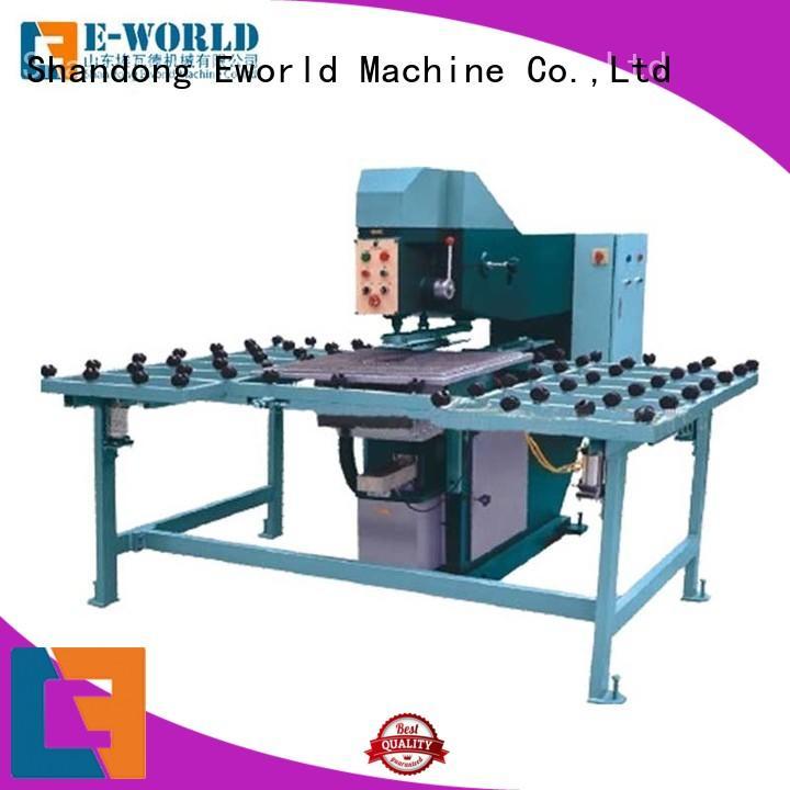 Eworld Machine unique design glass drilling machine supplier for distributor