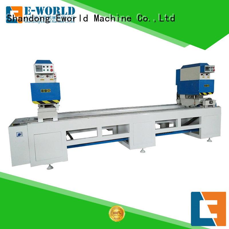 Eworld Machine bead pvc glass making machine factory for manufacturing