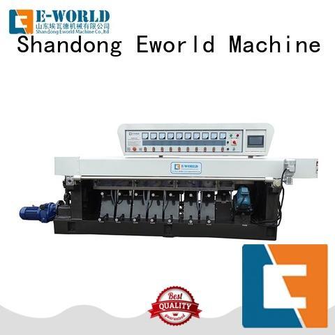 Eworld Machine machine glass straight line edging machine OEM/ODM services for manufacturing