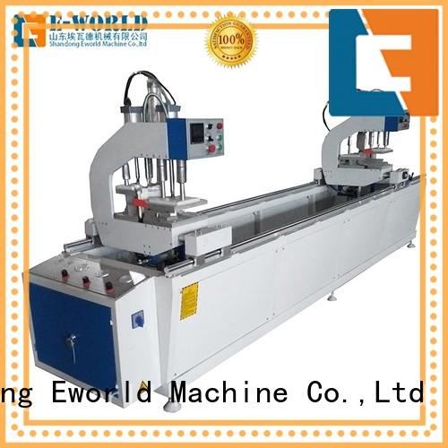 Eworld Machine window upvc window machine price order now for industrial production