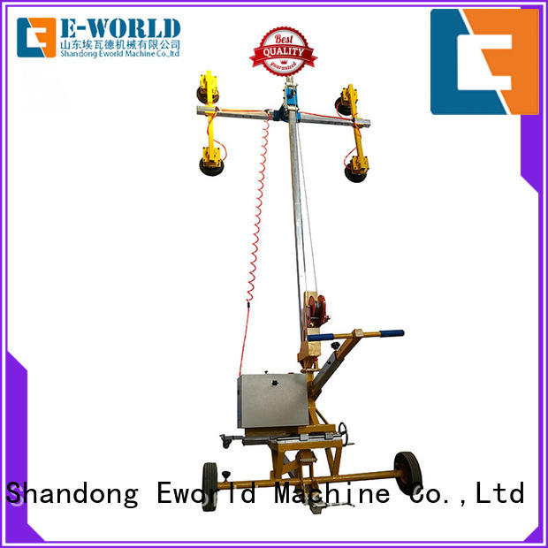 Eworld Machine equipment double cup suction lifter factory for sale