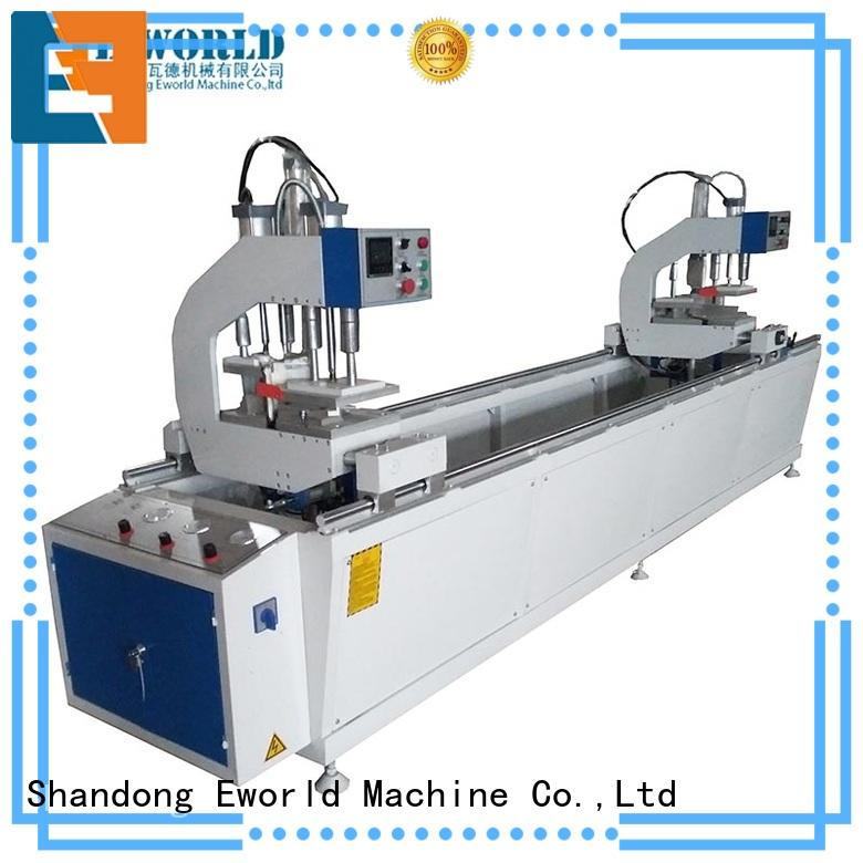 Eworld Machine window upvc cutting machine order now for importer