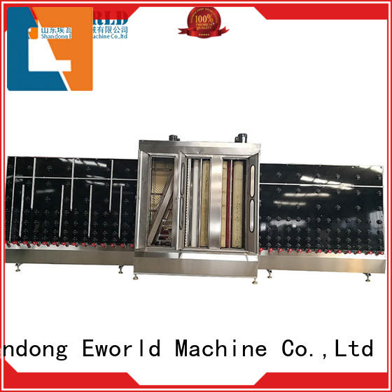 horizontal industrial glass washing machines factory for distributor Eworld Machine