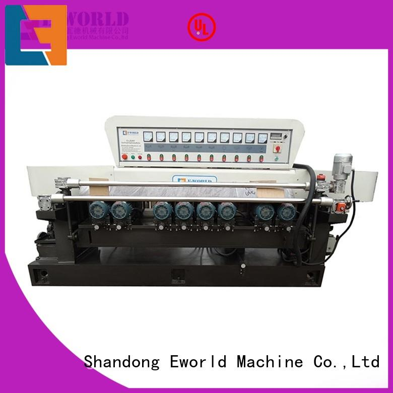 Eworld Machine multi glass shape beveling machine manufacturer for industrial production