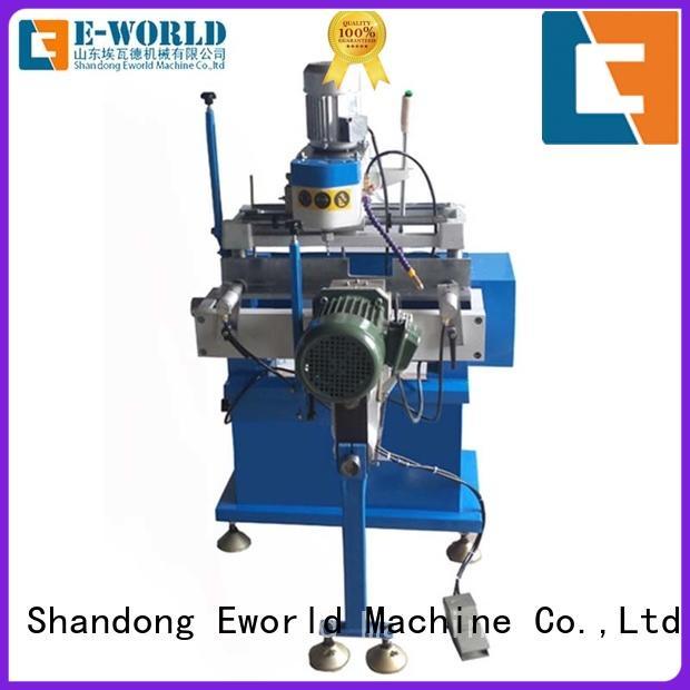 Eworld Machine customized upvc doors and windows making machine order now for manufacturing