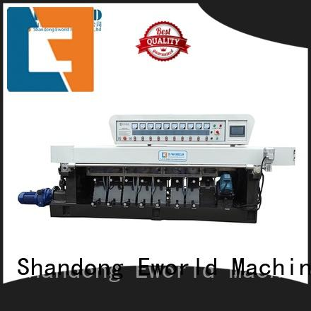Eworld Machine automatic shape glass grinding machine manufacturer for manufacturing