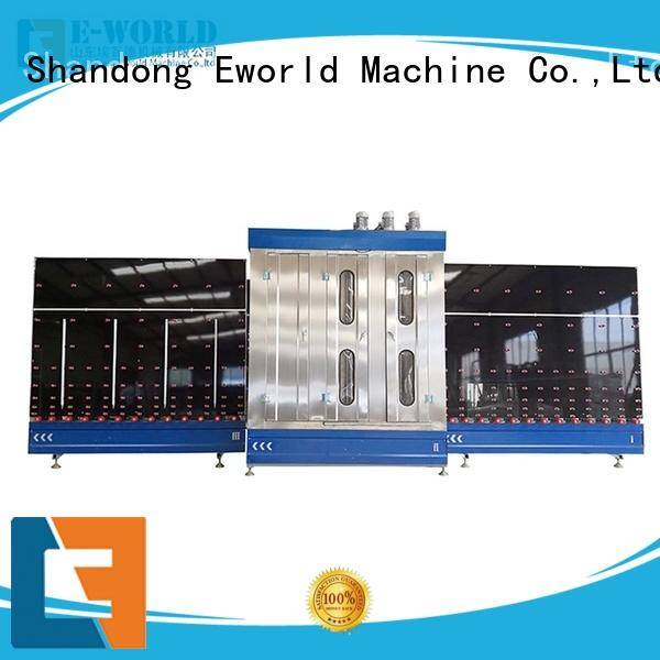 Eworld Machine technological low-e glass washing machine speed for manufacturing
