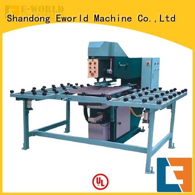 Eworld Machine unique design glass drilling machine for sale maker for manufacturing
